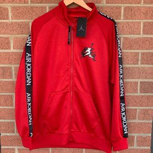 Jordan Jumpman Classics Tricot Red Warmup Jacket
